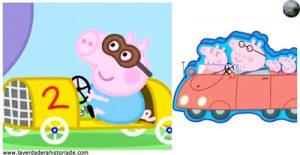 La seguridad vial de Peppa Pig