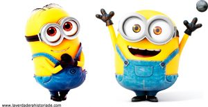 los minions y la cinta de video