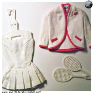 los trajes que llevaba barbie