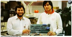Steve Jobs y Steve Wozniak