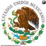 escudo de la bandera mexicana
