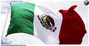 la verdadera historia de la bandera de México