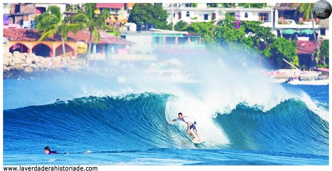 surf en e pacifico de Mexico