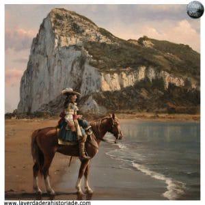 Gibraltar entonces al mando del intendente Diego Salinas