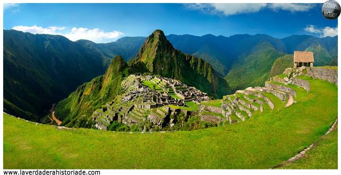 La teoría del paisaje Machu Picchu
