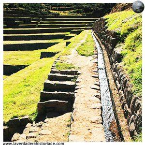 sistemas de drenaje del Machu Picchu