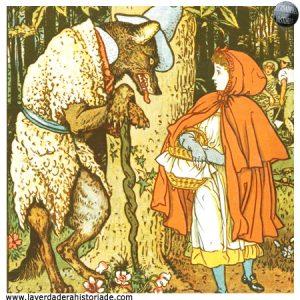 Caperucita y la abuelita matan al lobo feroz