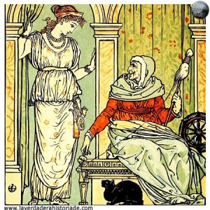 La bella durmiente se salva desnudándose delante de la reina