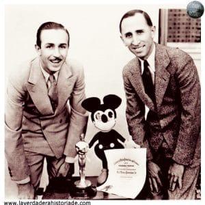 Walt y Roy Disney