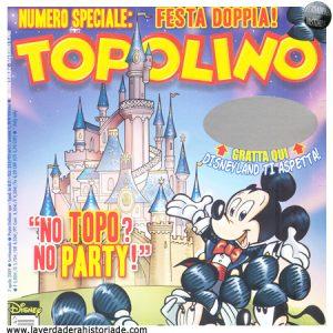 el nombre original de Mickey y el comic Topolino